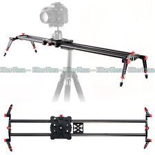 "80cm/32""PRO Carbon Fiber DSLR Camera DV Slider Dolly Track Video Stabilizer Rail"