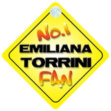 No.1 Emiliana Torrini Fan Car/Door/Window Hanger/Sign