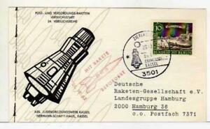 5394) Germany 1962 Postraketen 24 Versucksreihe