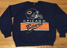 Vintage CHICAGO BEAR American Football NFL 50/50 Sweatshirt. Size L