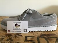 NEW Nike Janoski [AT4967-002] Men's Size 9 Gray White Spikeless Golf Shoes 🔥