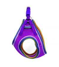 Lil Pals Mesh Comfort Adjustable Step-in Dog Harness for Puppies and Toy Breeds