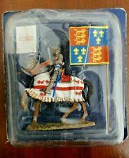 Soldat de plomb Moyen-âge DELPRADO Sir John Codrington Porte étendard Henry V