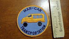 Vintage Mar Can Transportation Mount Vernon Ny Salesman Copy Patch Bx V #15