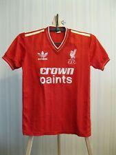 FC Liverpool 1985/1986/1987 Home Size Boys L Adidas shirt jersey maillot soccer