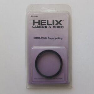 vintage 52mm —> 55mm Step-Up ring for lens filters—HELIX Camera by KALT, c.1990