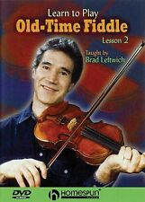 Brad Leftwich Learn To Play OldTime Fiddle Lesson 2 Violin Music DVD