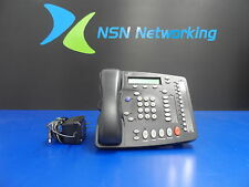 3COM NBX 2102PEIR 3C10228IRPE VoiP Business Display Telephone 655-0115-01 w/ PS
