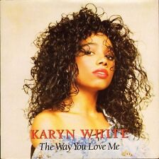"KARYN WHITE the way you love me/love on the line W7773 warner 1988 7"" PS EX/EX"