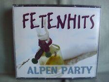 FETENHITS- Alpen Party- 4-CD-Box- RAR & NEUWERTIG