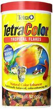 Tetra 16162 TetraColor Tropical Flakes, 7.06-Ounce, 1-Liter, New, Free Shipping