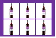 Eisberg Merlot Red Alcohol-Free Zero Still Wine (6x75cl) Pack Non-Alcoholic 0%