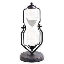 """One-Hour Decorative 14"""" Hourglass - Swiveling Vintage Stand Style Device"""