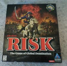 VTG Hasbro Risk PC game Windows 95 CD Rom strategy 1996 Vintage Classic Board