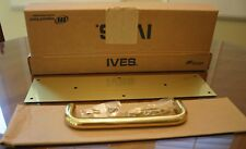 """Ives 8302-8 Us3 4x16 1.3/4"""" Brass Door Pull Plate and Handle New in Box"""