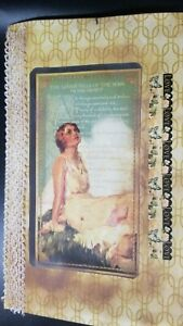 Handmade Vintage Style Junk Journal..Exquisite! Music pages and more! Ephemera!