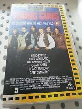 YOUNG GUNS 2 VHS video