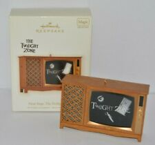 More details for rare hallmark keepsake magic light and sound the twilight zone old style tv