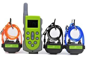 650 Yard Waterproof Rechargeable Obedience Remote Dog Training Shock  Collar