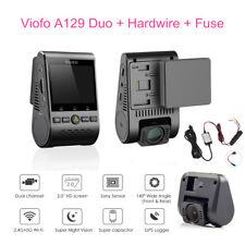 Viofo A129 Duo 1080P 30 FPS Auto DVR Bewegungserkennung GPS+Hardwire+Sicherung