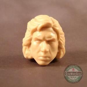 "ML173 SDCC unmasked Kylo Ren Custom Cast head sculpt use w/6"" Star Wars figure"