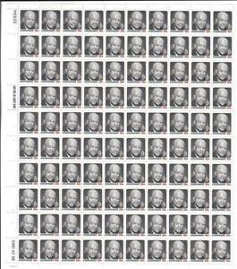 US SCOTT1394 PANE OF 100 EISENHOWER 8 CENT FACE MNH