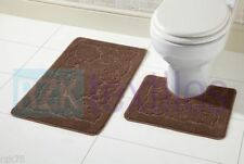 Tapis de bain marrons pour salle de bain