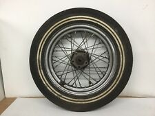 Harley Shovelhead Panhead 16 Inch Wheel With Old School Goodyear White Wall 16""