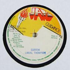 "Linval Thompson ""Curfew"" Reggae 12"" Jah Guidance mp3"
