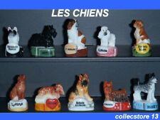 SERIE COMPLETE DE FEVES LES CHIENS