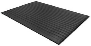 "24020302 AIR STEP BLACK ANTIFATIGUE MAT ( 3/8"" X 24"" X 3' ) UPC:847029000051"