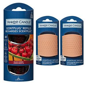2 x TRIANGLE plugs & REFILLS YANKEE CANDLE Plug In Air Freshener STARTER SET