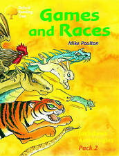 Oxford Reading Tree: Levels 8-11: Jackdaws: Pack 2: Games and Races by Mike Pou…