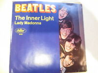 The Beatles-Lady Madonna/The Inner Light Capitol 45RPM w/fan club insert MONO