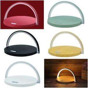 Wireless Charger LED Night Lamp Shadeless Multifunctional Adjustable Angle 380g