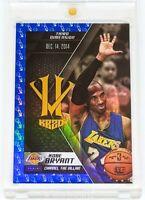 2015-16 Panini HV KB20 Channel the Villain Blue #20 Kobe Bryant - 3rd Dimension