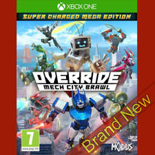OVERRIDE MECH CITY BRAWL - Microsoft Xbox ONE ~ Brand New & Sealed