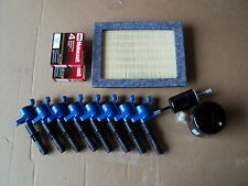 COMPLETE TUNE UPKIT 8+COILS DG511 BLUE+ 8 PLUG SP515/SP546+ AIR, GAS, OIL FILTER