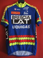 Maillot cycliste Brescialat Nalini Liquigas Equipe Pro 1998 Vintage - 5