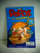 Packaged 2000 Popeye Pull Back Action Toy