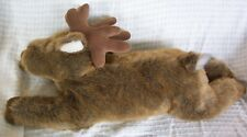 """BIG Natural Wonders RUDOLPH THE RED NOSED REINDEER 27"""" Plush Stuffed Animal Toy"""