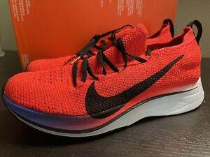 Nike Vaporfly 4% Flyknit Bright Crimson Men sz 5 Women sz 6.5 [AJ3857-601]