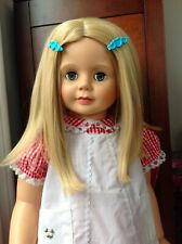 "Vintage 1968 Uneeda Doll Ideal Patti Playpal Type 31"" Sleep Eyes reddish hair"