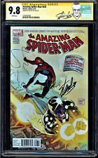 AMAZING SPIDER-MAN #628 CGC 9.8 SS STAN LEE SIGNED CGC #1278792020 mms