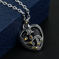 Necklace Metal Chain Necklace Sterling Silver Marcasite Turquoise Heart Necklace