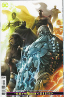 Justice League #34 DC COMICS Variant Cover B VIRGIN 1ST PRINT