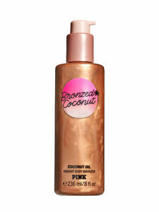 Victoria's Secret Pink Bronzed Coconut Radiant Body Bronzer with Coconut Oil