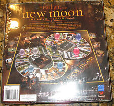 NEW THE TWILIGHT SAGA NEW MOON THE MOVIE-GAME BOARD/ FACTORY SEALED