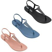 Ipanema Pop Glitter 21 T-Strap Flip Flops Summer Beach Pool Glitter Sandals