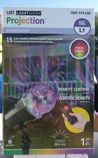 Lot of 3 LightSho Projector LED  Comet Spiral W/ Remote Outdoor Lighting